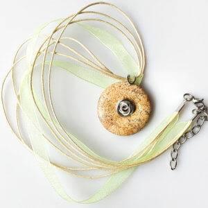 Náhrdelník s přívěskem jaspis obrázkový * Picture Jasper pendant necklace