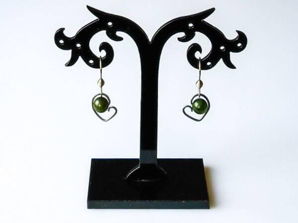Náušnice nefrit * Nephrite earrings