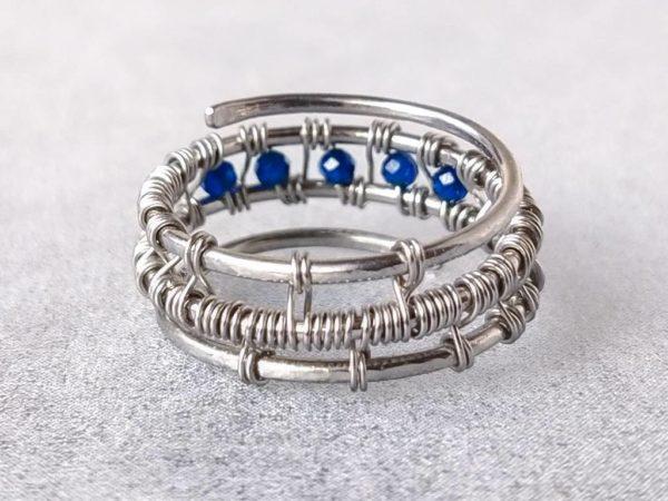 Prsten se safíry * Sapphire ring